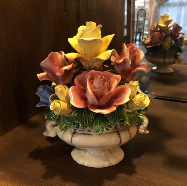 イタリア製陶花