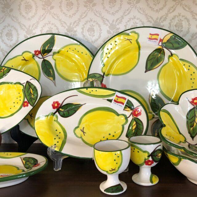 人気のスペイン陶器 新柄入荷