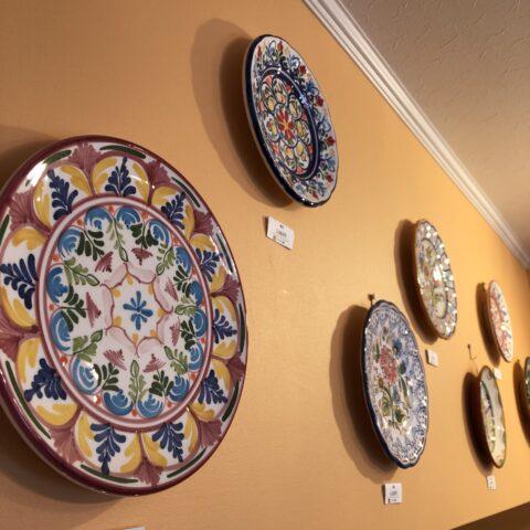 壁掛け飾り皿