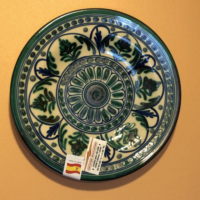 スペイン製飾り皿